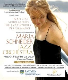 Maria Schneider RIJF/ESM January 23, 2009