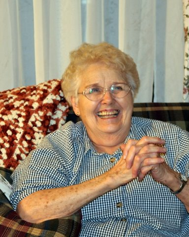 My mother laughing