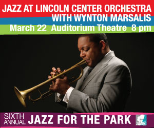 Jazz for the Park, March 22, 2010