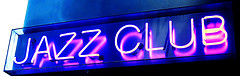 Jazz Club neon sign