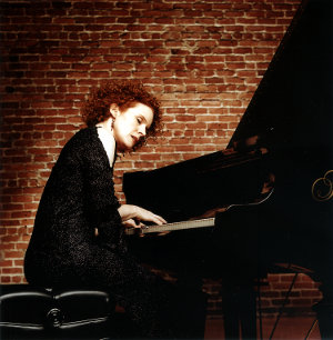 Lynne Arriale at the piano